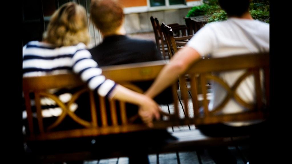 flickvän vill ligga med andra Helsingborg