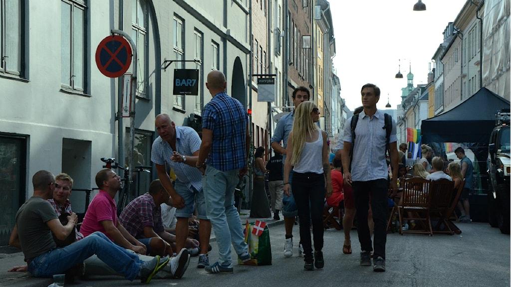 Köpenhamns gatufestande på Pride. Foto: Miss Copenhagen/Flickr/CC BY-NC-ND 2.0