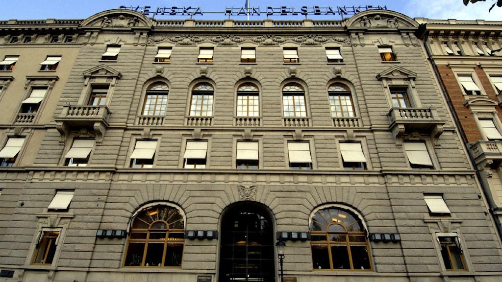 Svenska Handelsbankens huvudkontor vid Kungsträdgården i Stockholm. Foto Hasse Holmberg / SCANPIX.