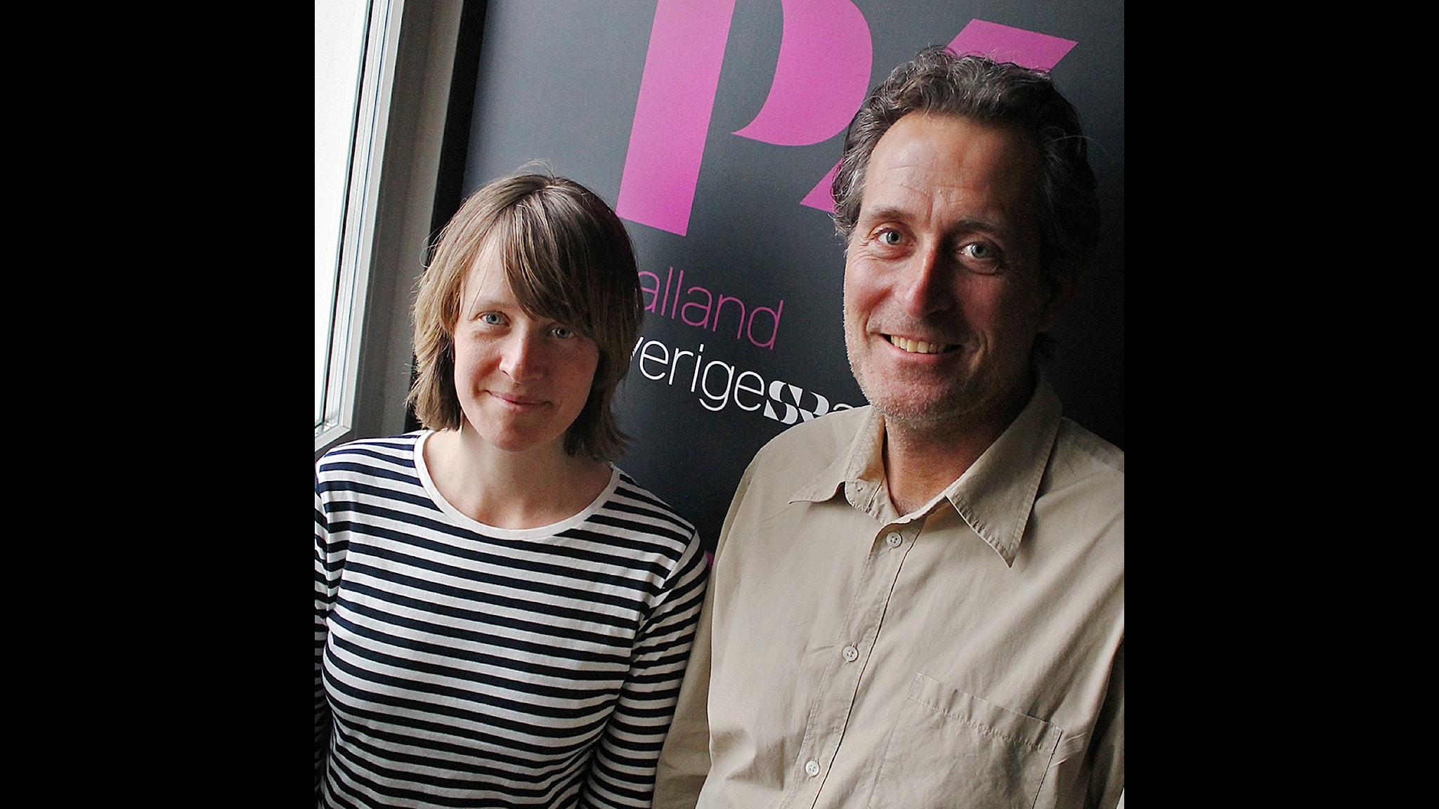 Med Therese Wahlgren och Peter Bengtsson