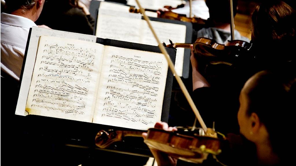 Londons symfoniorkester har framfört datorkomponerad musik. Foto: Snejbjerg Carsten/Scanpix