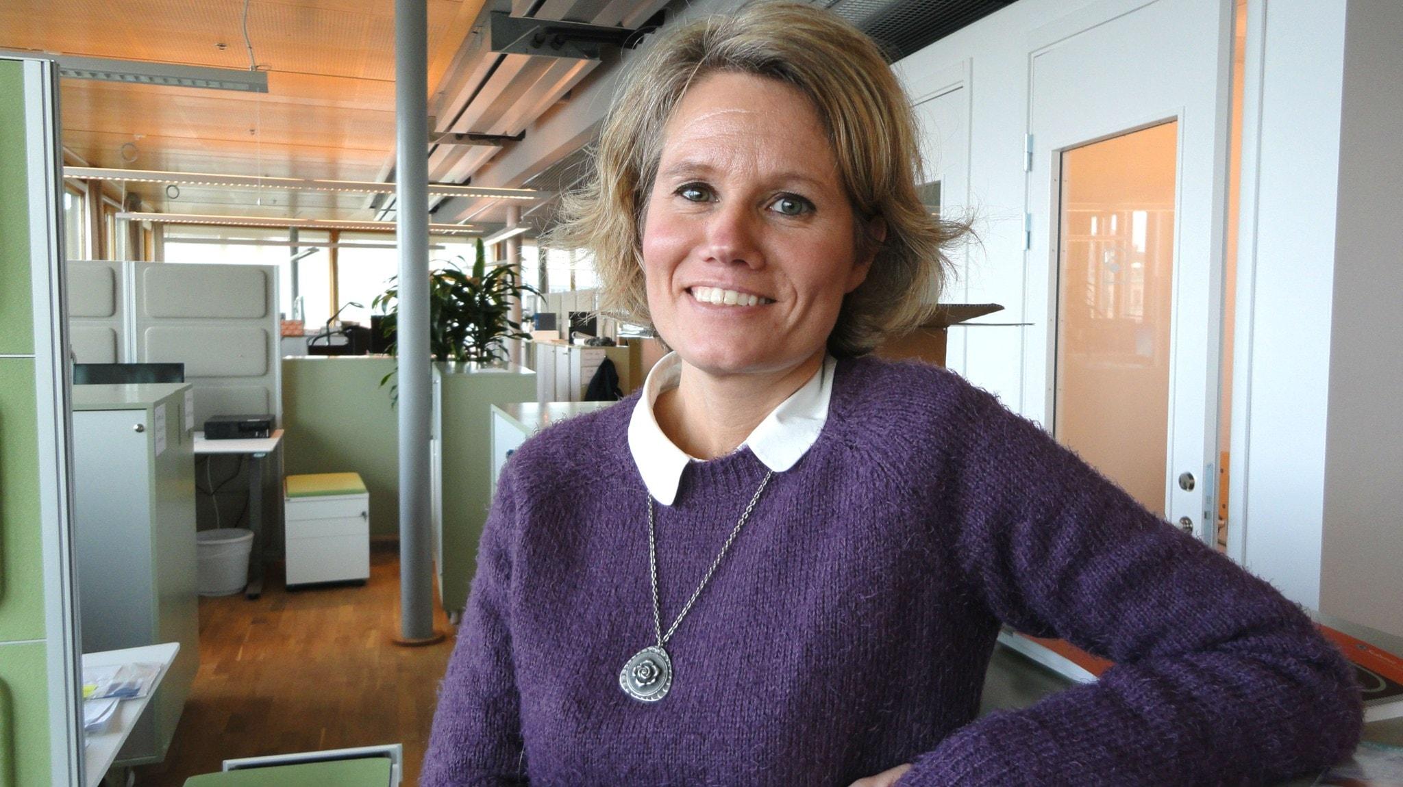 Pia Steensland vill ha bättre medicin mot alkoholberoende