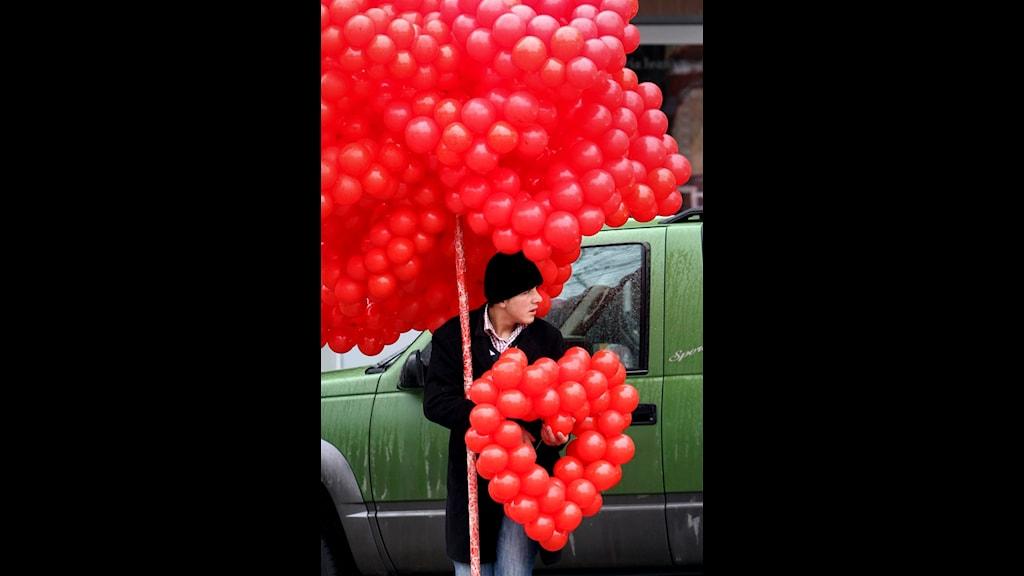 Alla hjärtans dag. Foto: SELCAN HACAOGLU