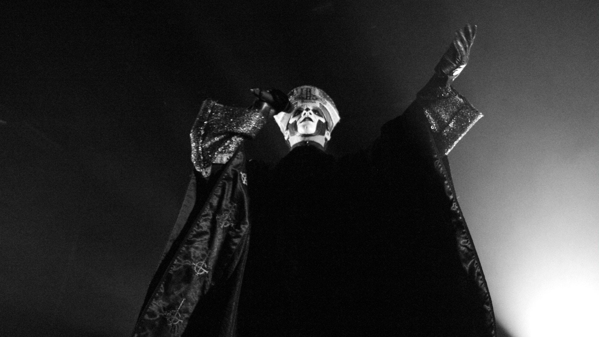 Direktsänd konsert med Ghost från Annexet i Stockholm