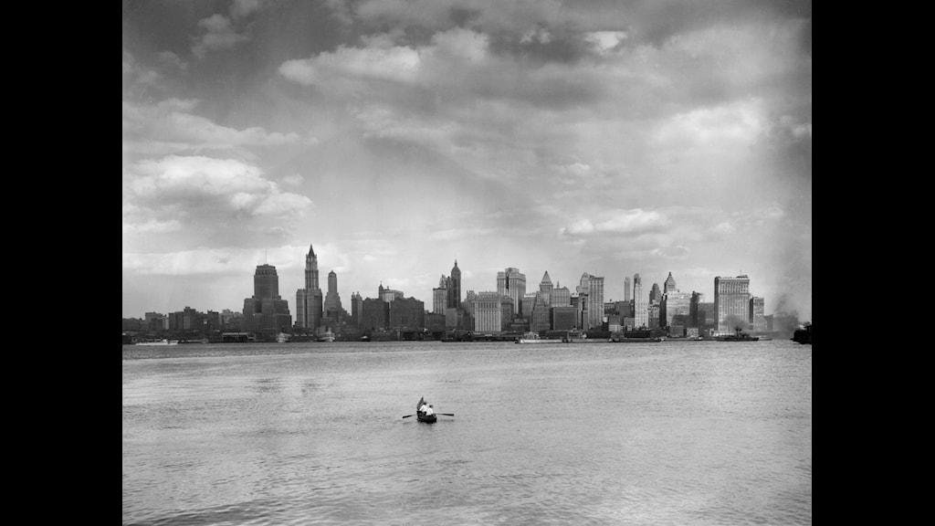 För 350 år sedan förvandlades Nya Amsterdam till New York. Foto: SVT Bild