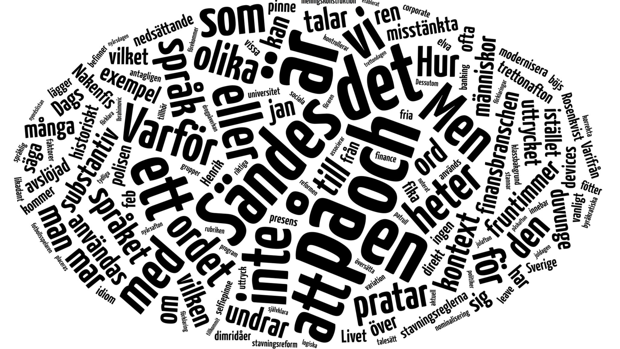 Vilket inflytande har svenskan haft på andra språk?