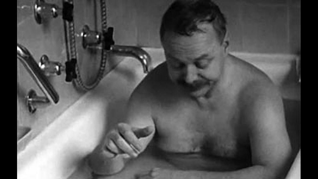 Christer Strömholm i filmen Myglaren