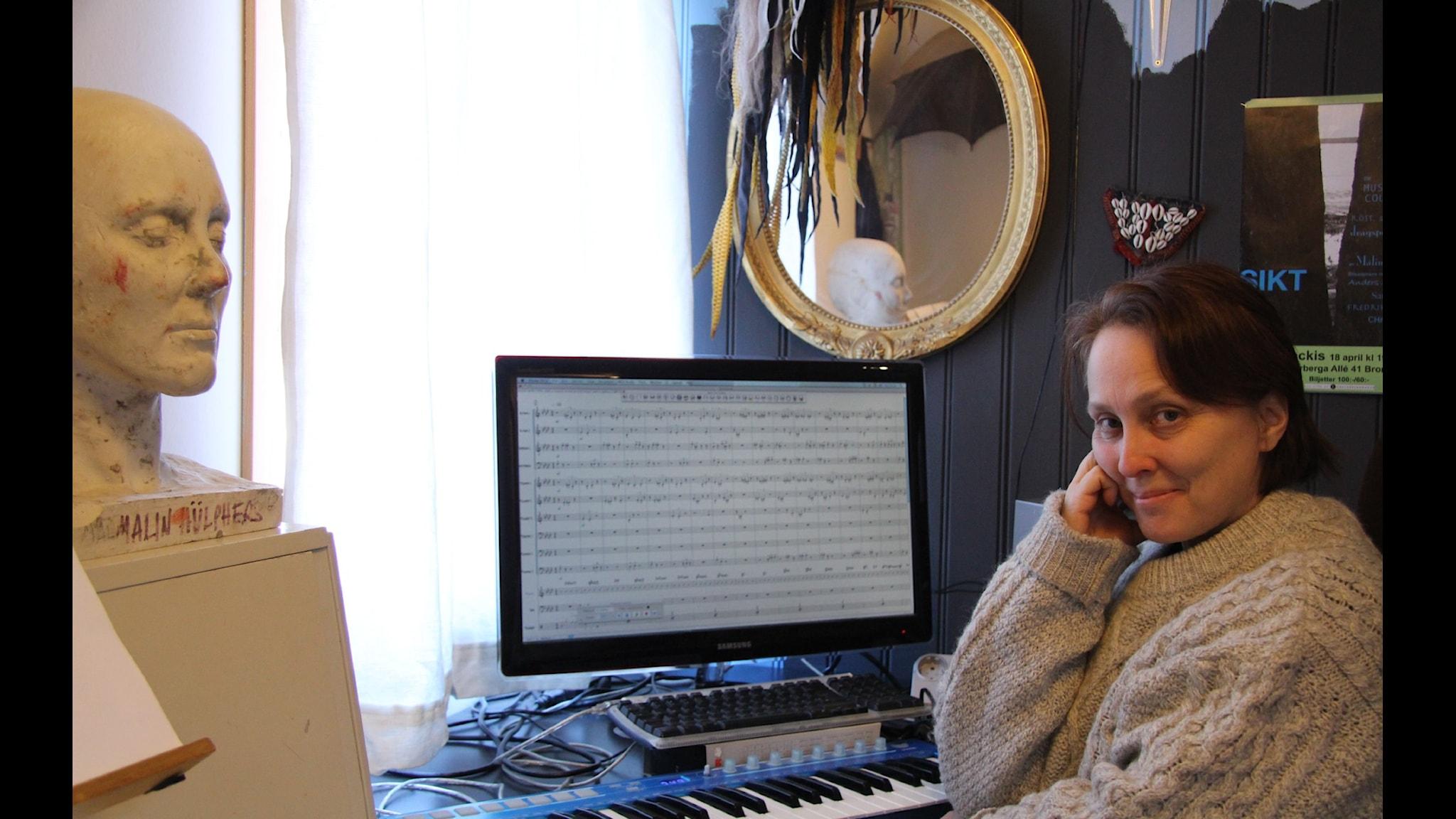 När Härnösand blev musik - om tonsättaren Malin Hülphers