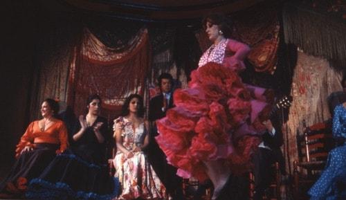 """El flamenco - """"Den svider i blodet som krossat glas"""""""