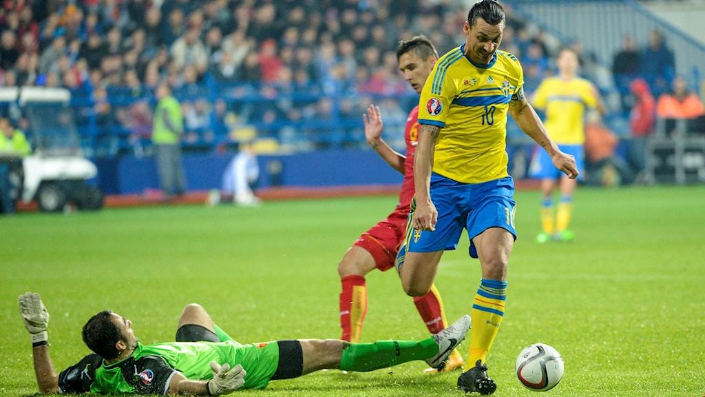 Så funkar Zlatans hjärna under matchen