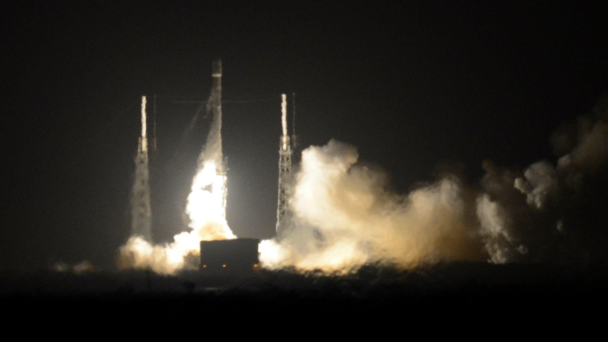Raket i retur stort steg för rymdindustrin