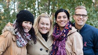 Morgon i P4 Västerbotten med Micke och Rihaneh