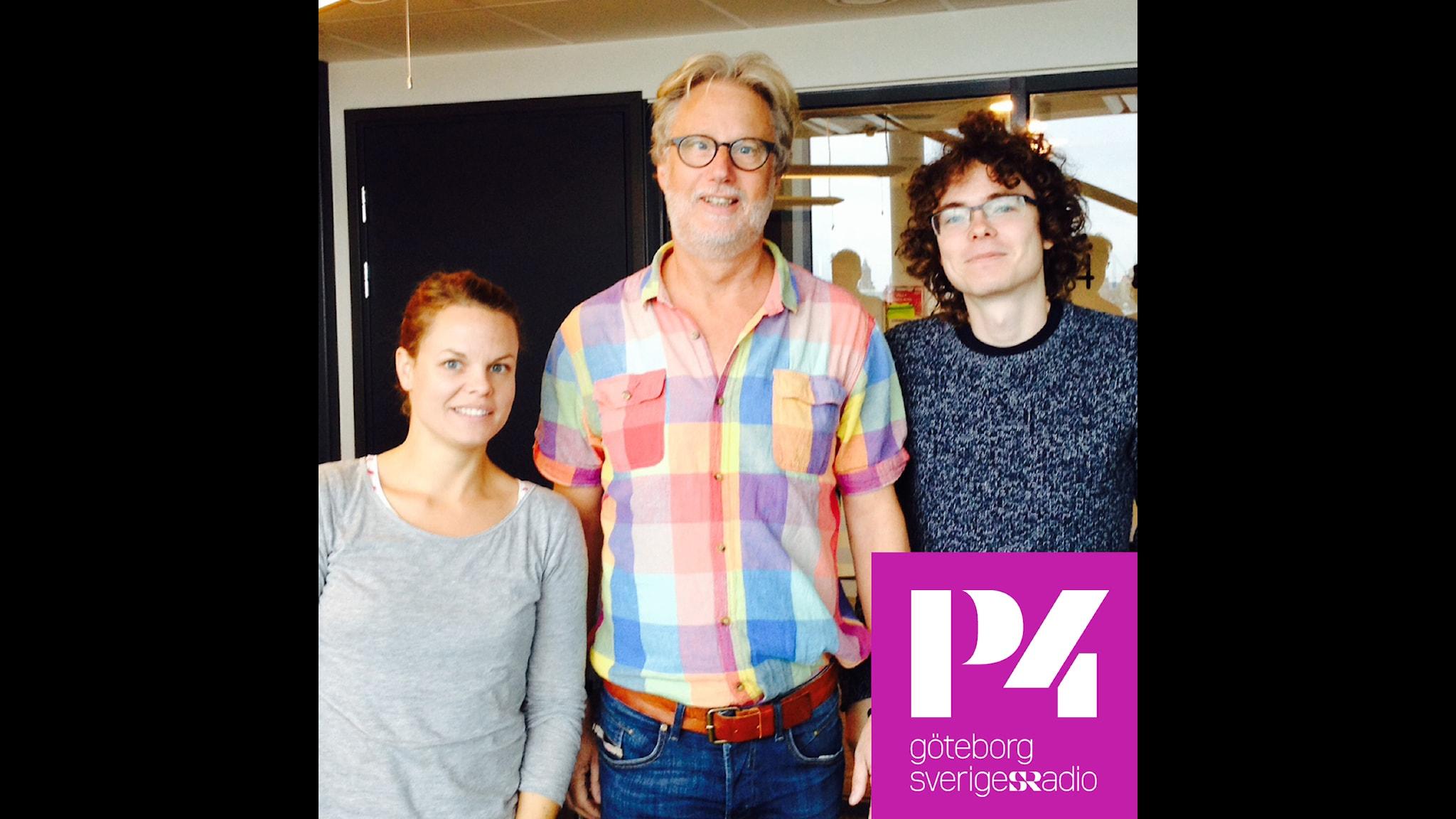 Med Ylva Nilsson, Peo Wenander och Tobias Edlund