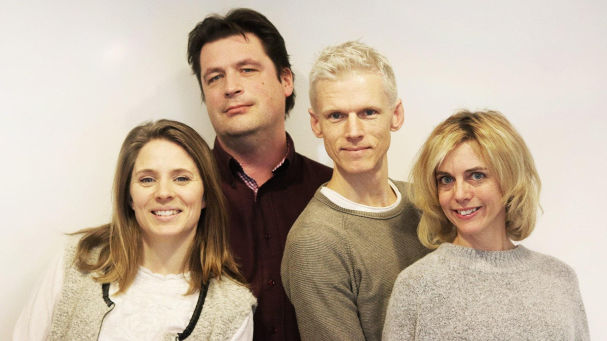 Med Johan Signert och Emma Sandebäck