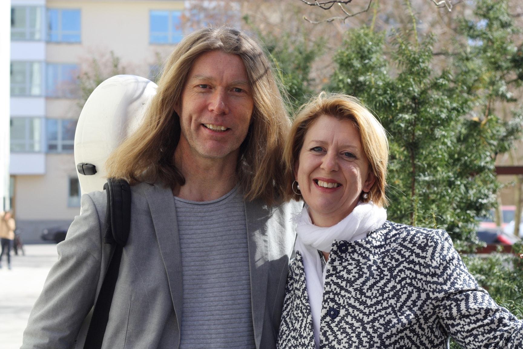 Svante Henryson och Susanne Rydén