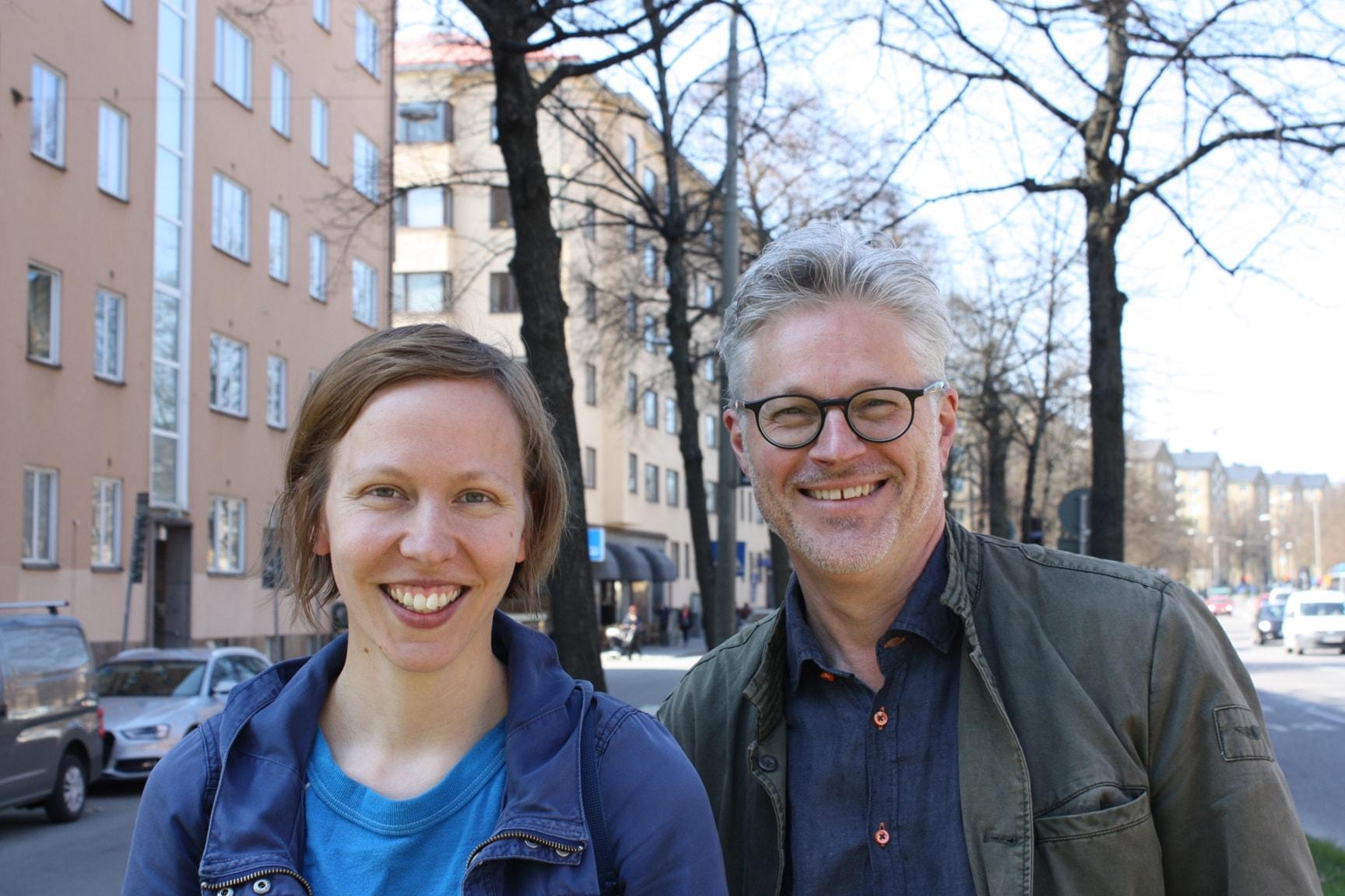 Mats Bergström och Anna Högberg