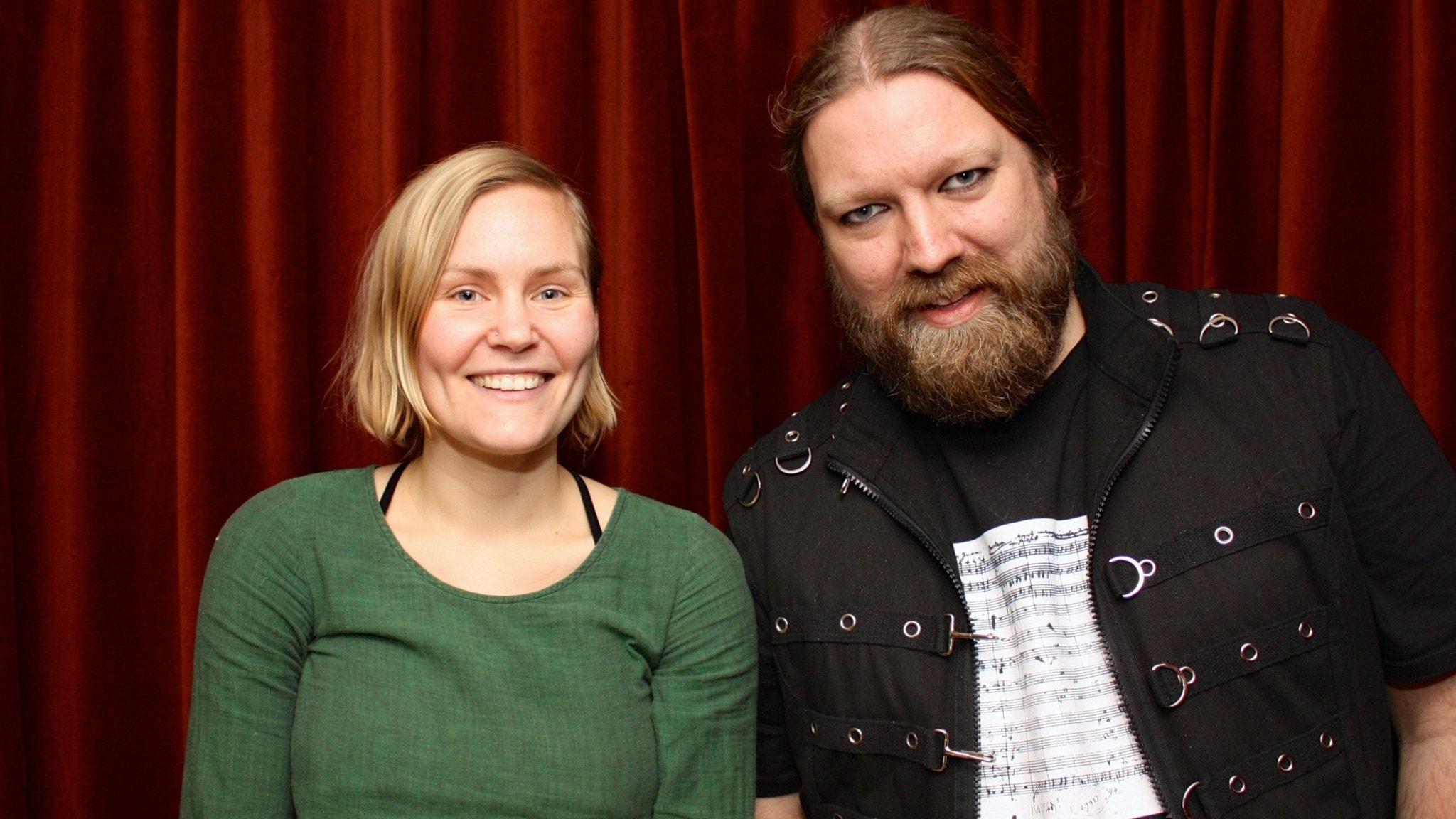 Marie Hanssen Sjåvik och Rickard Söderberg