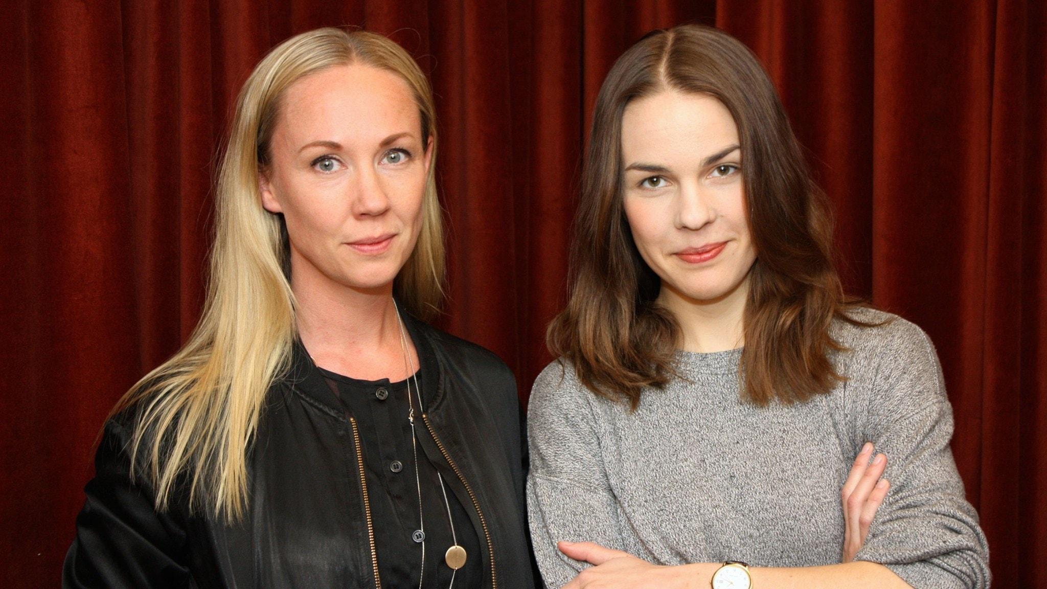 Lisa Nordström och Isabella Lundgren