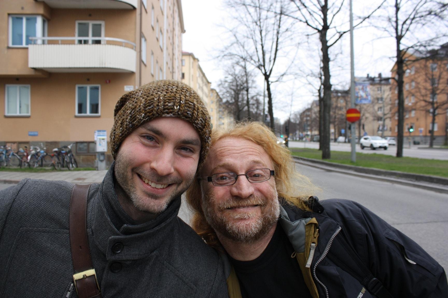 Jakob Korányi och Moussa Elias