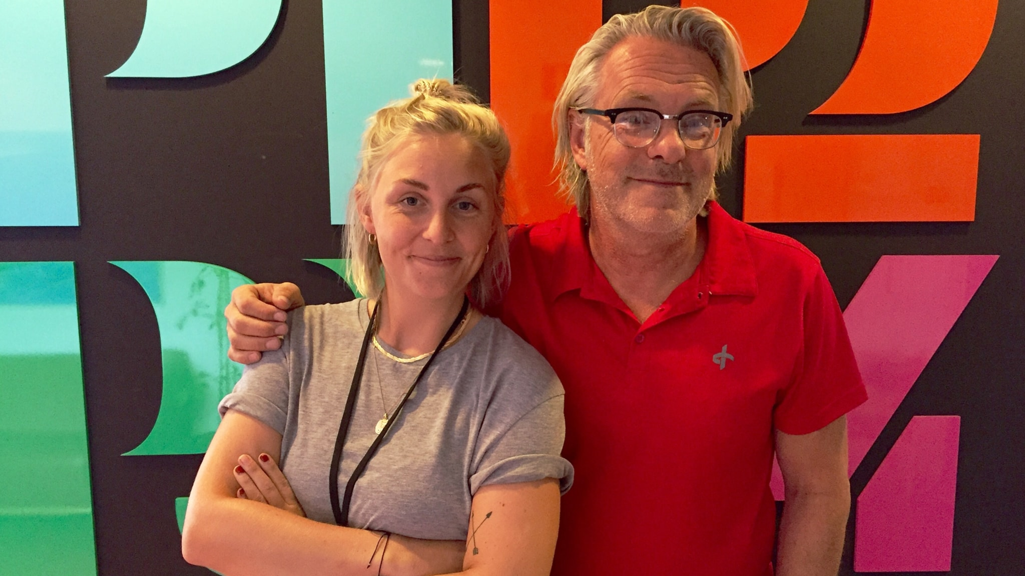 Med Louise Halldén och Per Brolleus