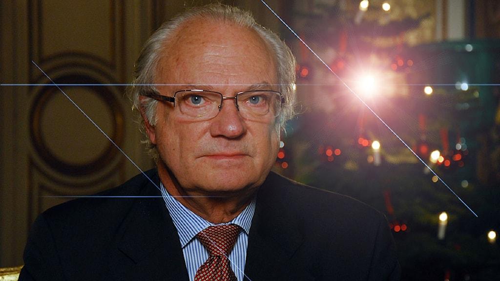 Kungen. Foto: SVT Bild.