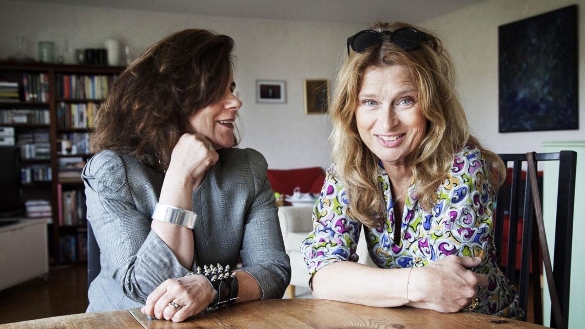 Katarina Hahr möter skådespelaren Lena Endre