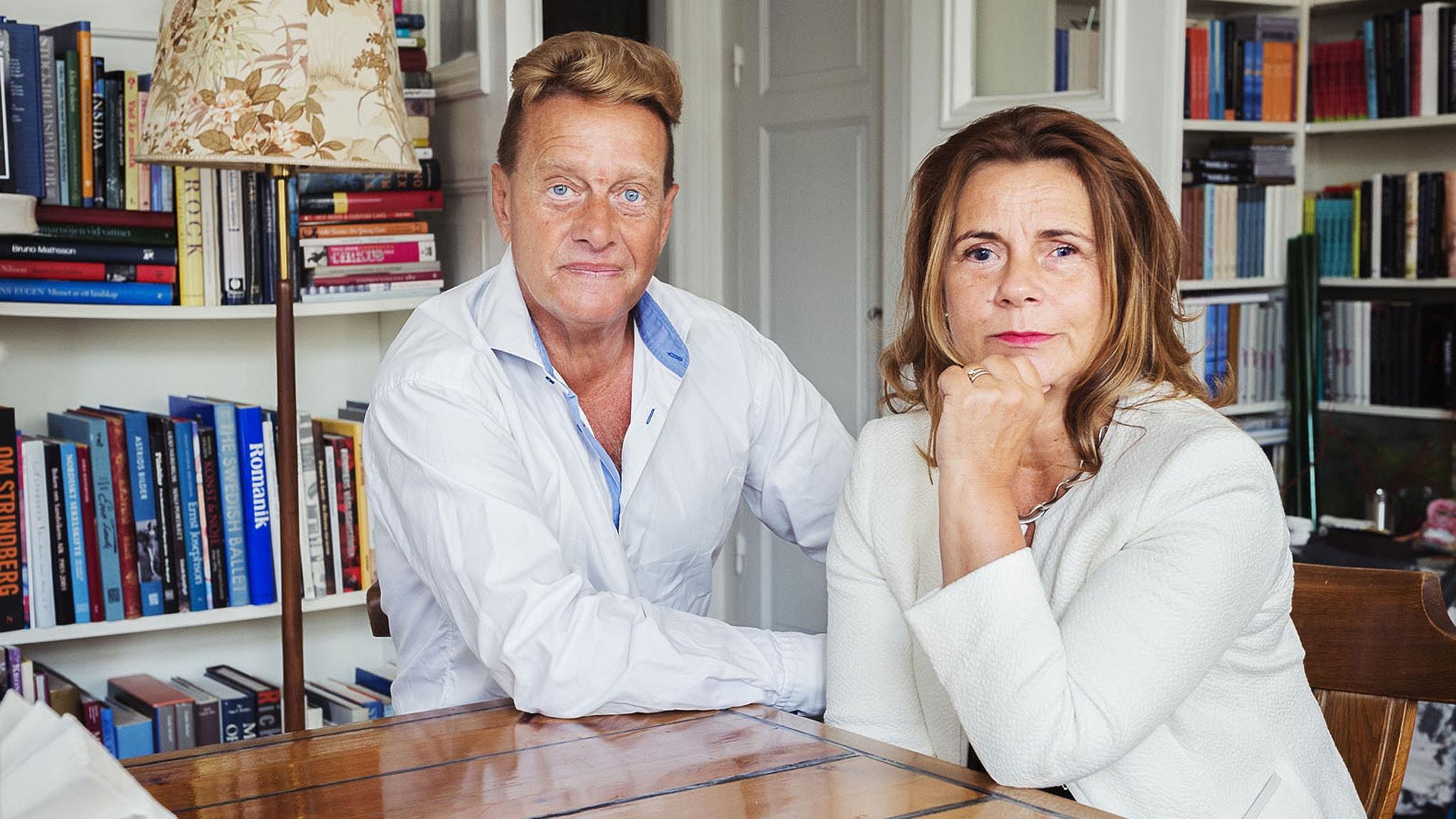 Katarina Hahr möter Björn Ranelid
