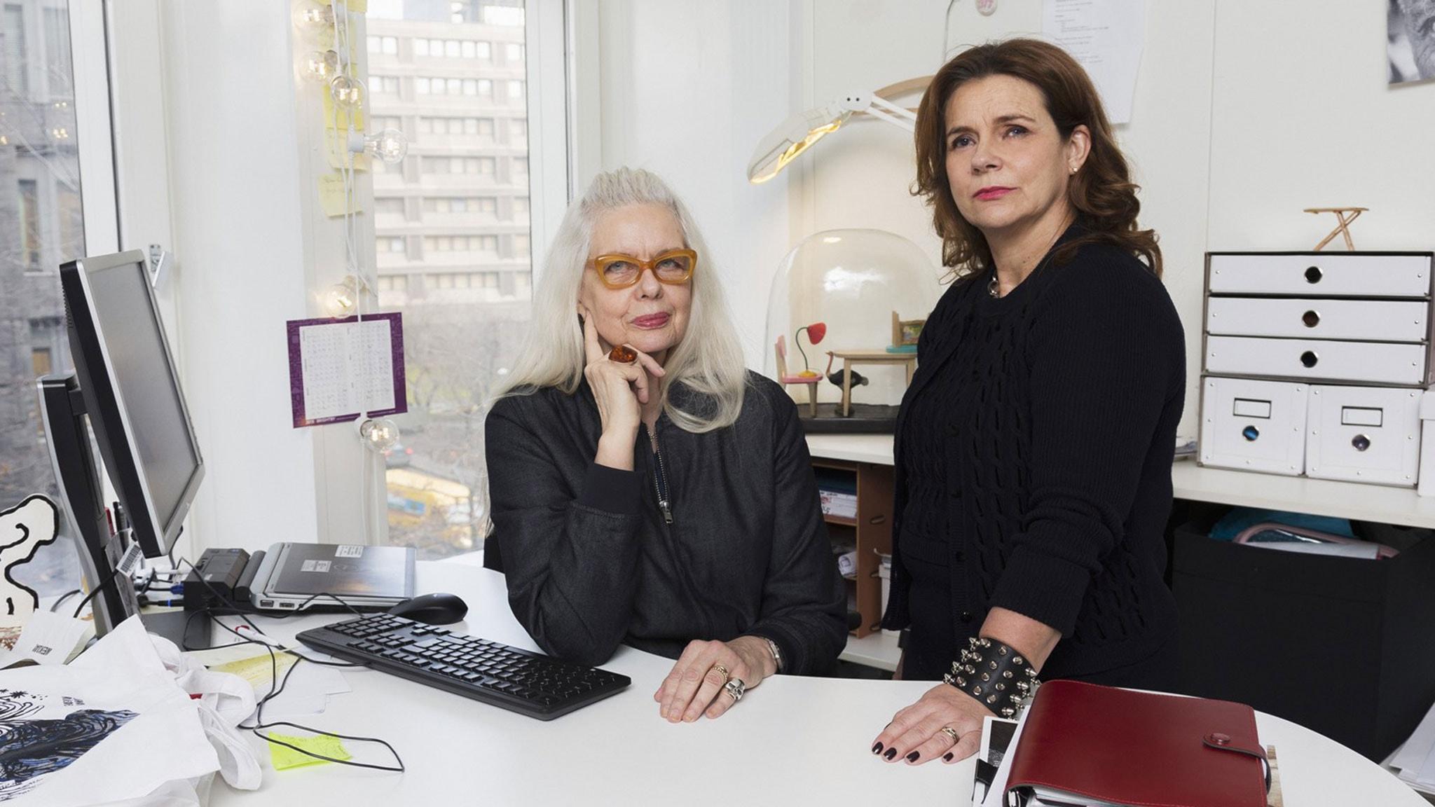 Katarina Hahr möter Marianne Lindberg De Geer