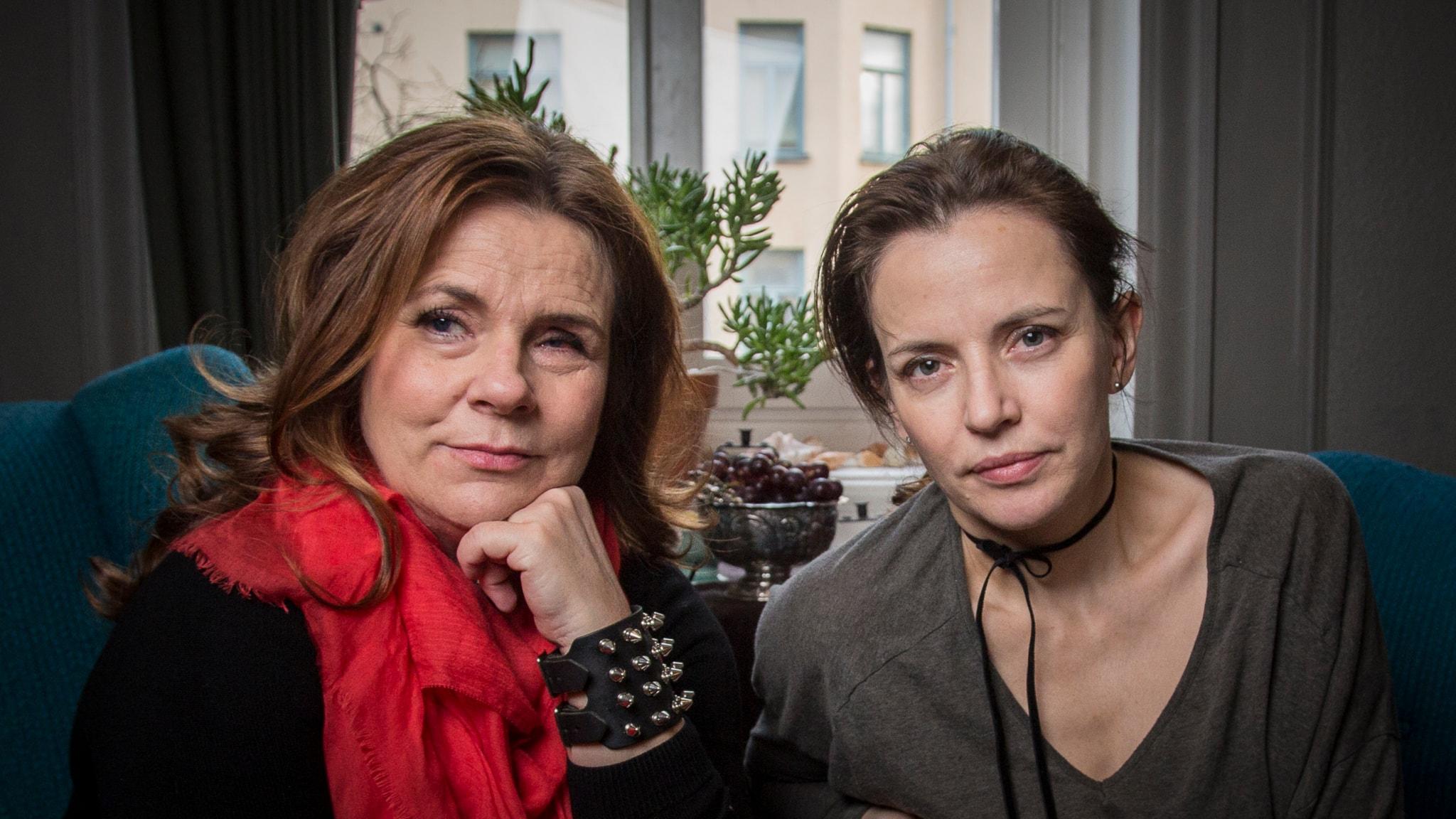 Katarina Hahr möter Amanda Ooms