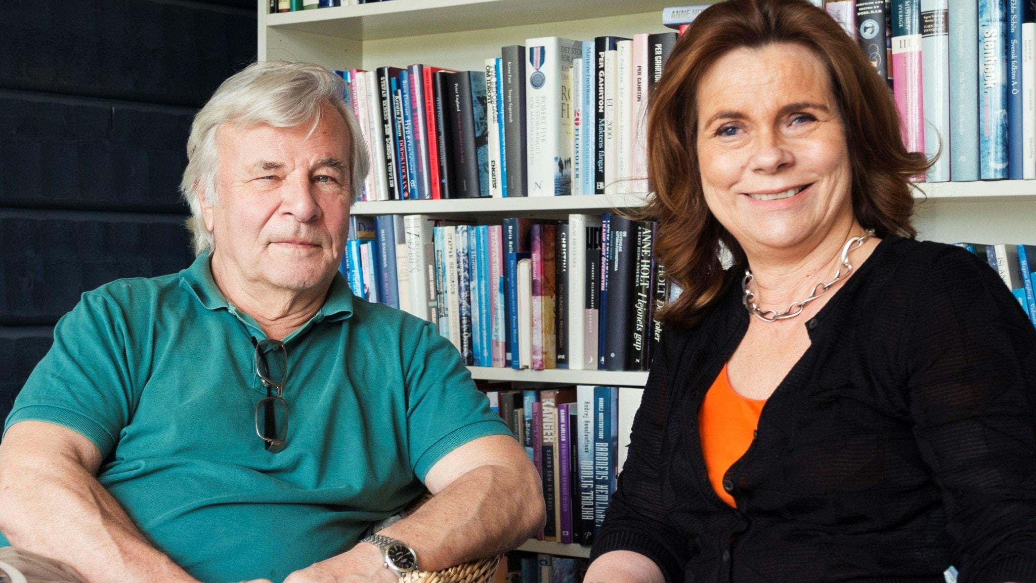 Katarina Hahr möter Jan Guillou i ett samtal om självförtroende