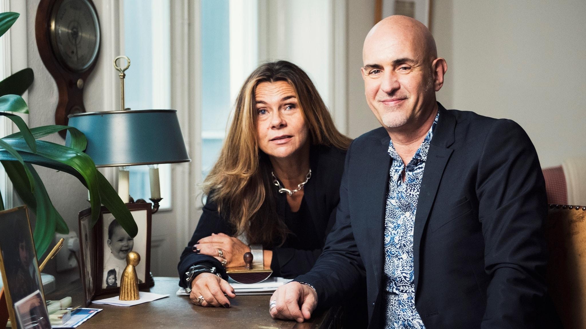 Katarina Hahr möter företagaren och festfixaren Micael Bindefeld i ett samtal om kärlek