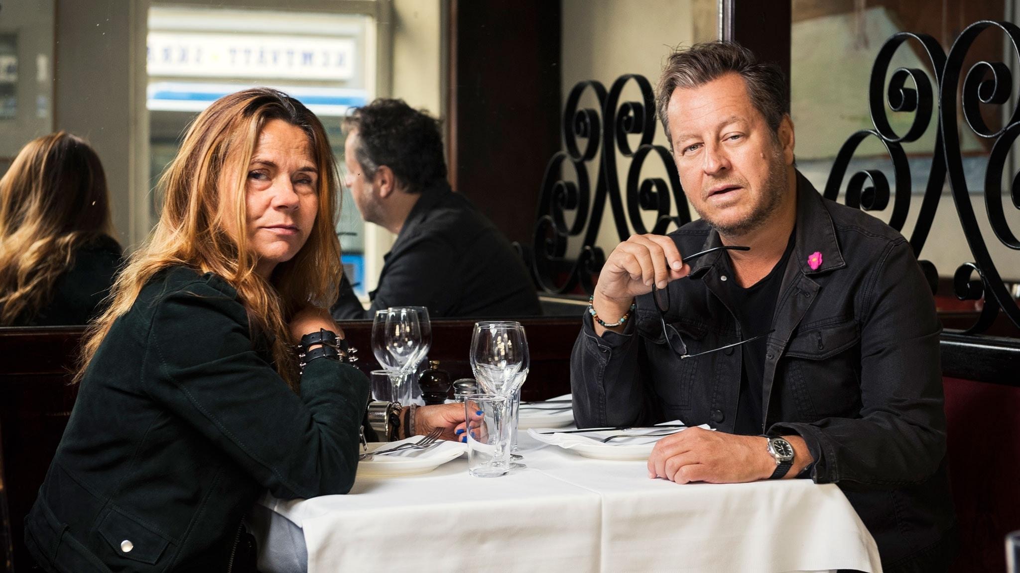 Katarina Hahr möter artisten Mauro Scocco i ett samtal om kärlek
