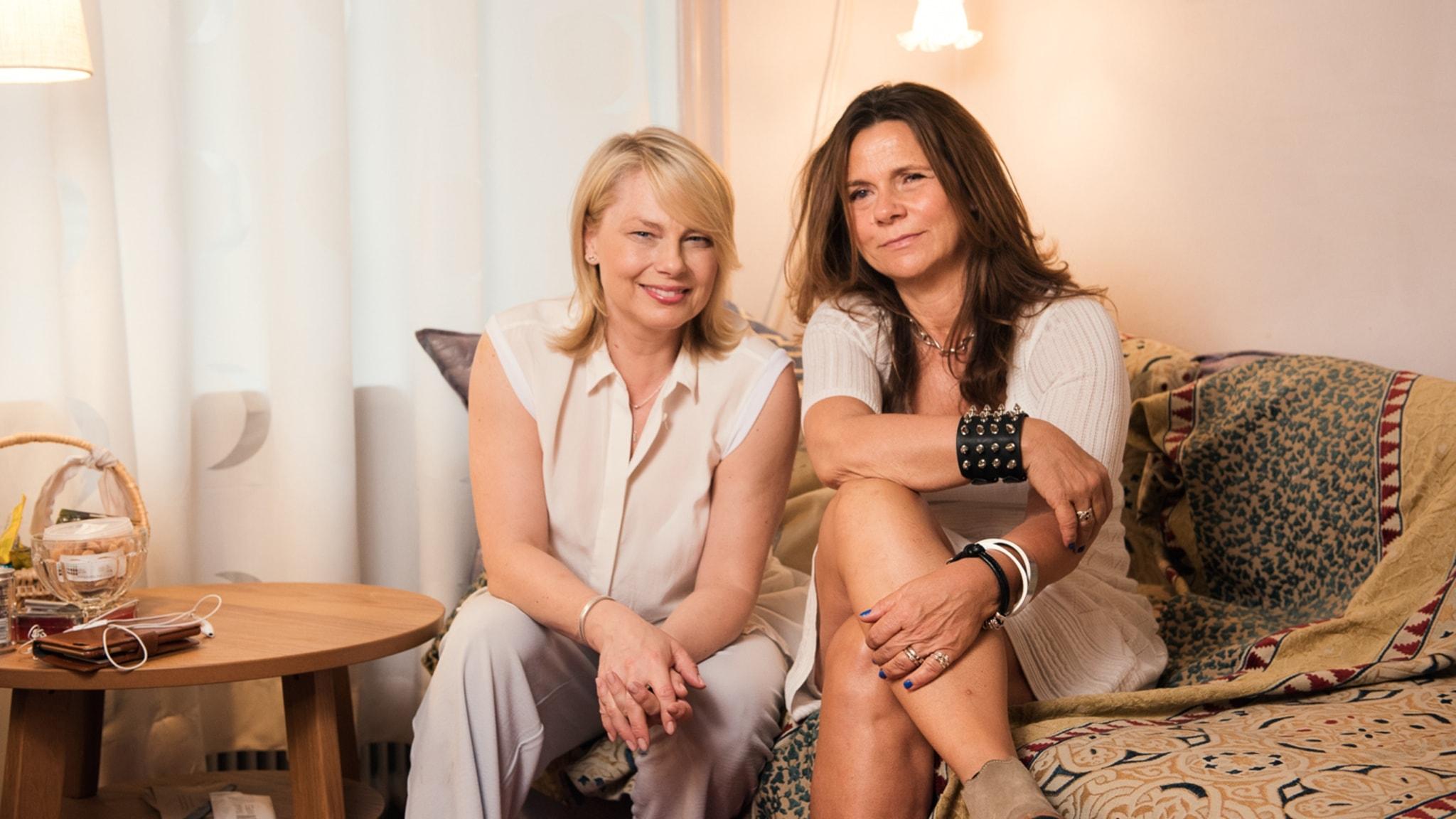 Katarina Hahr möter skådespelaren och regissören Helena Bergström
