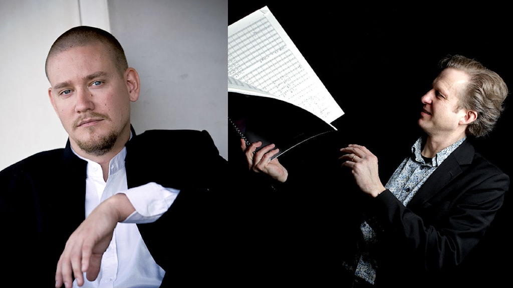 Tobias Broström och Mats Larsson Gothe. Foto: Norrlandsoperan/Frank Julin
