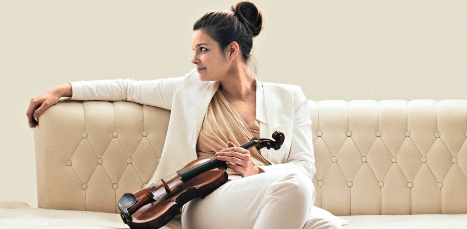 """Anders Eliassons Violinkonsert """"Ensam färd"""" med nederländska violinisten Janine Jansen"""
