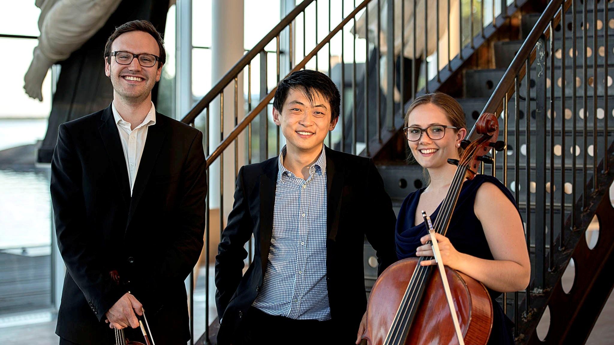 Trio Lek i Karlskrona med P2:s artist David Huang