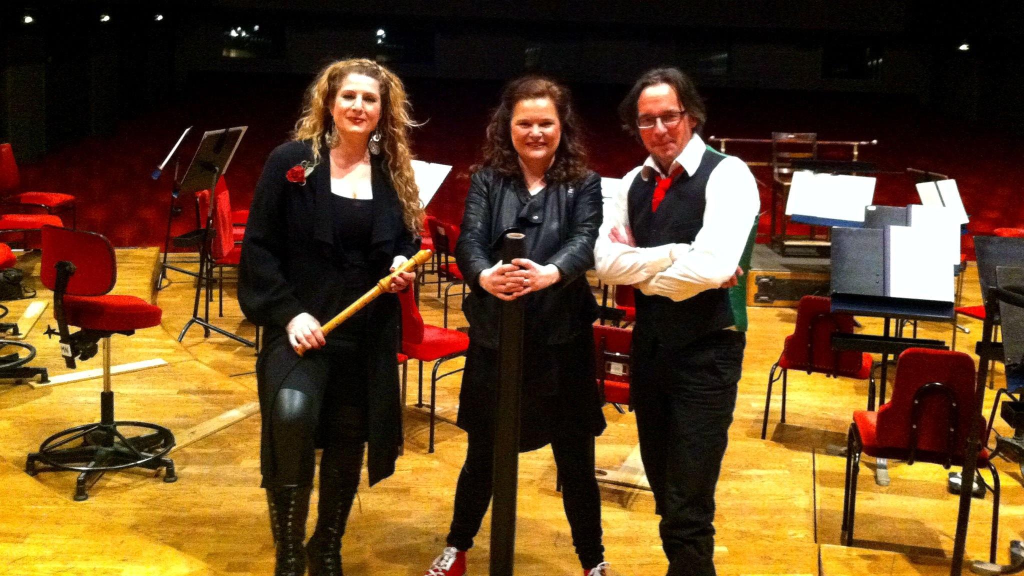 Luciakonsert med Nacka Musikklasser