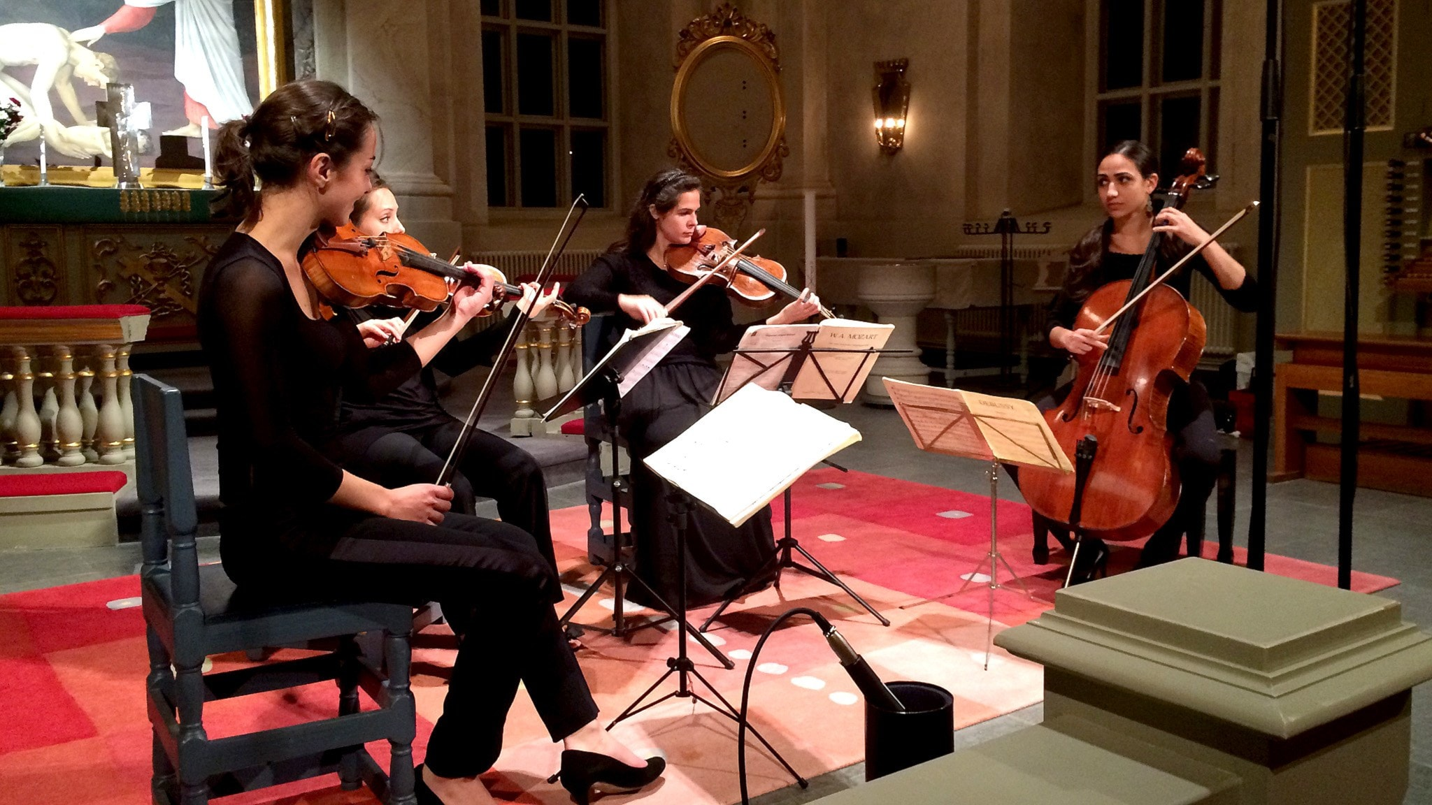 Quatour Zaïde + Nordiska kammarorkestern