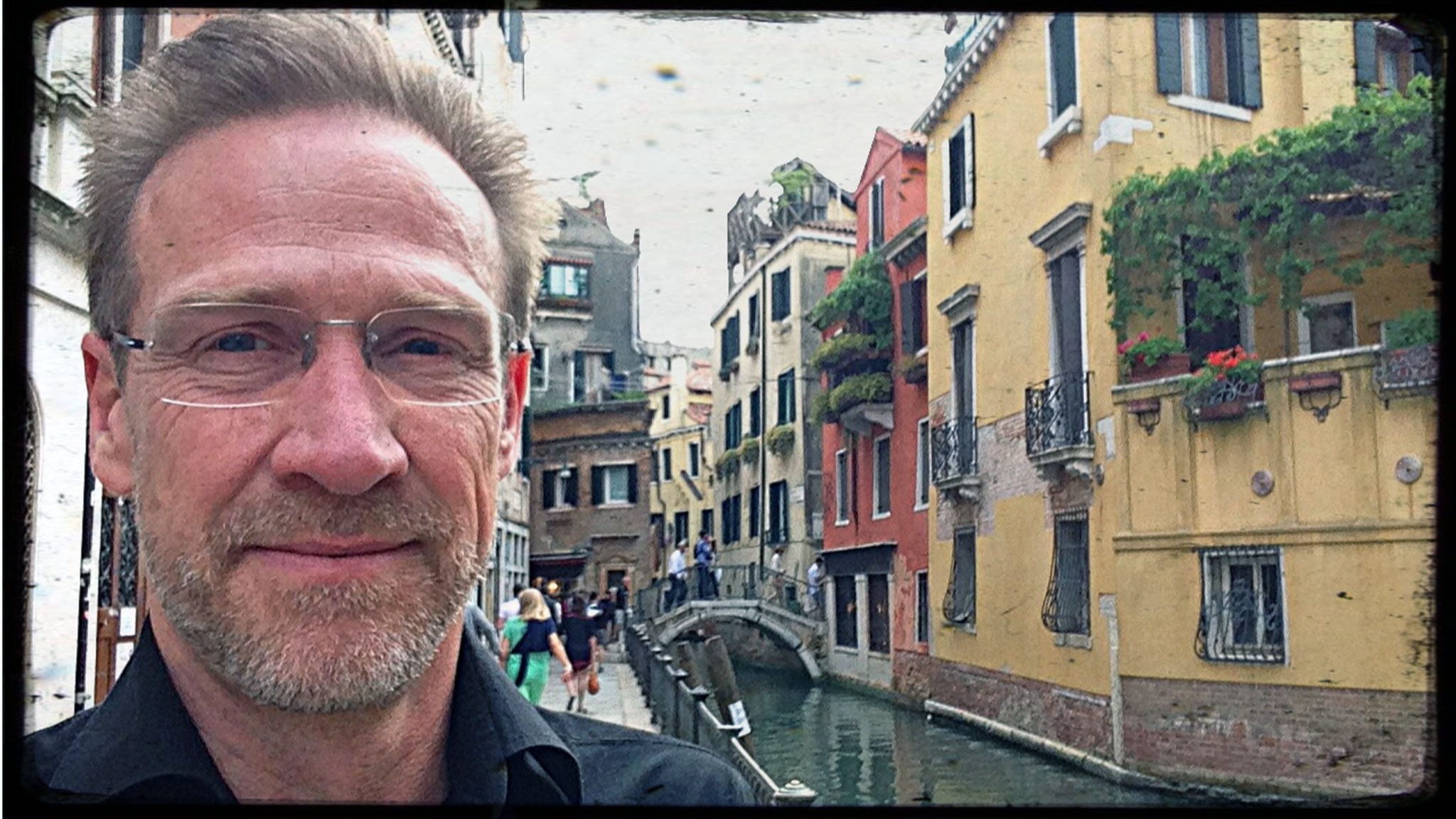 En Söndagsmorgon på plats i Venedig