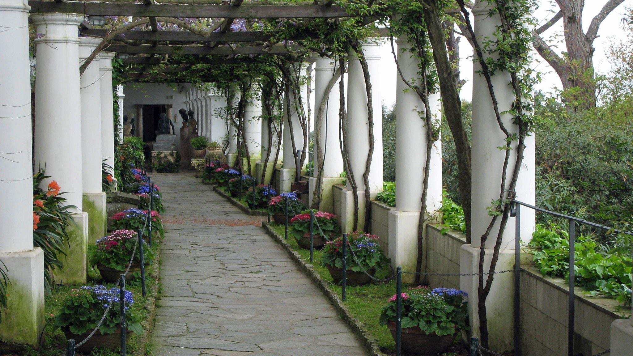 En majdag i Axel Munthes Villa San Michele