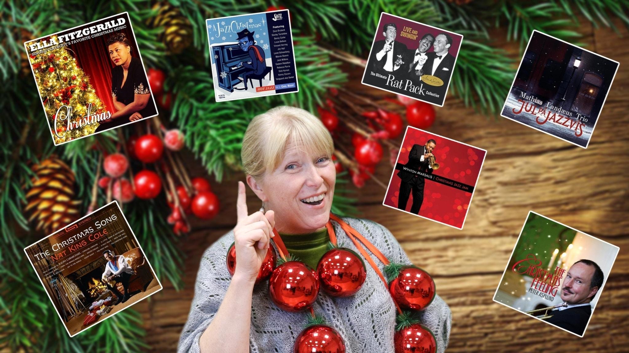 Vi frossar i juljazz - tack för alla tips!