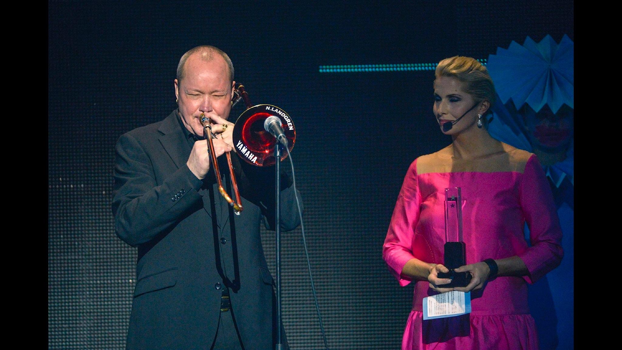 Bohuslän Big Band i konsert med Nils Landgren och Viktoria Tolstoy