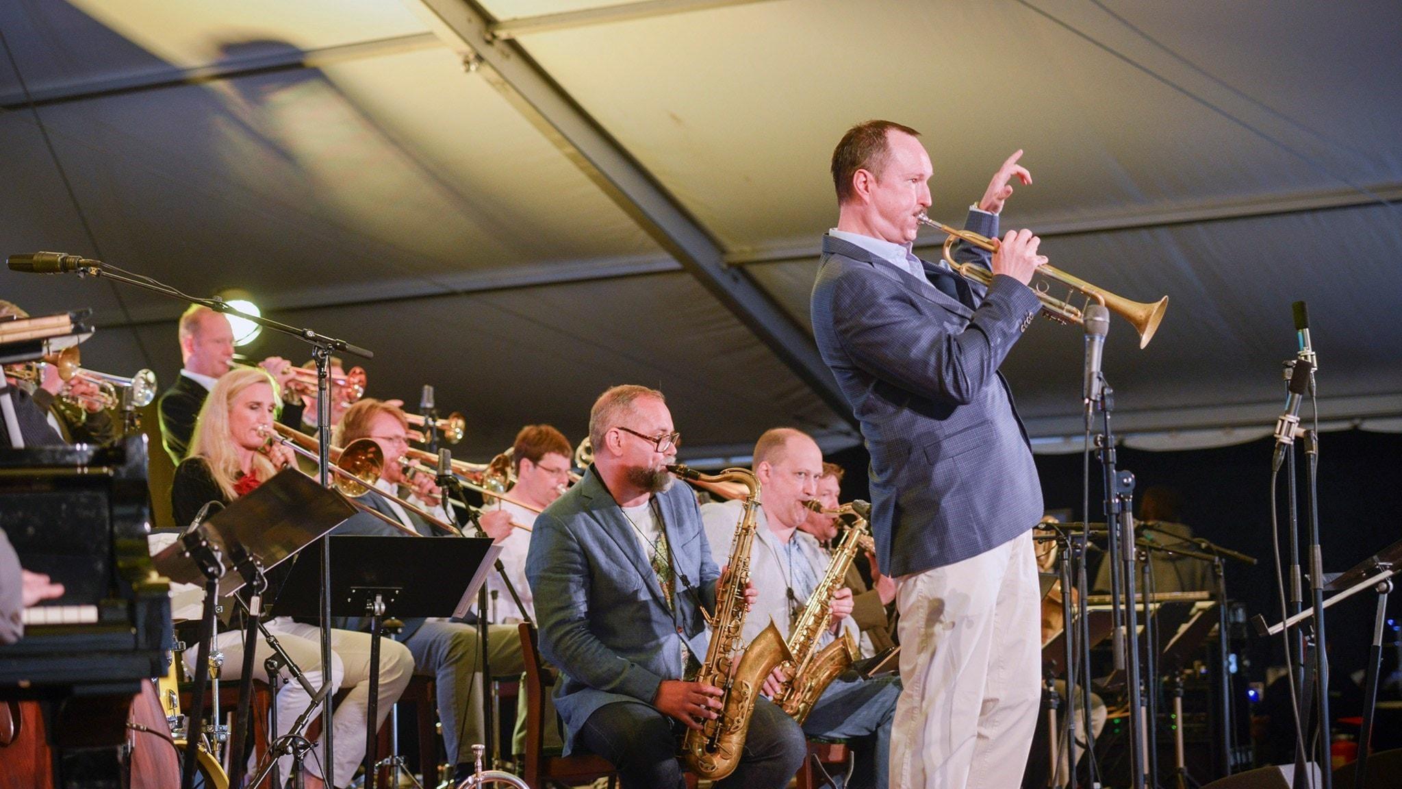 Peter Asplunds Big Band Show i Sandviken