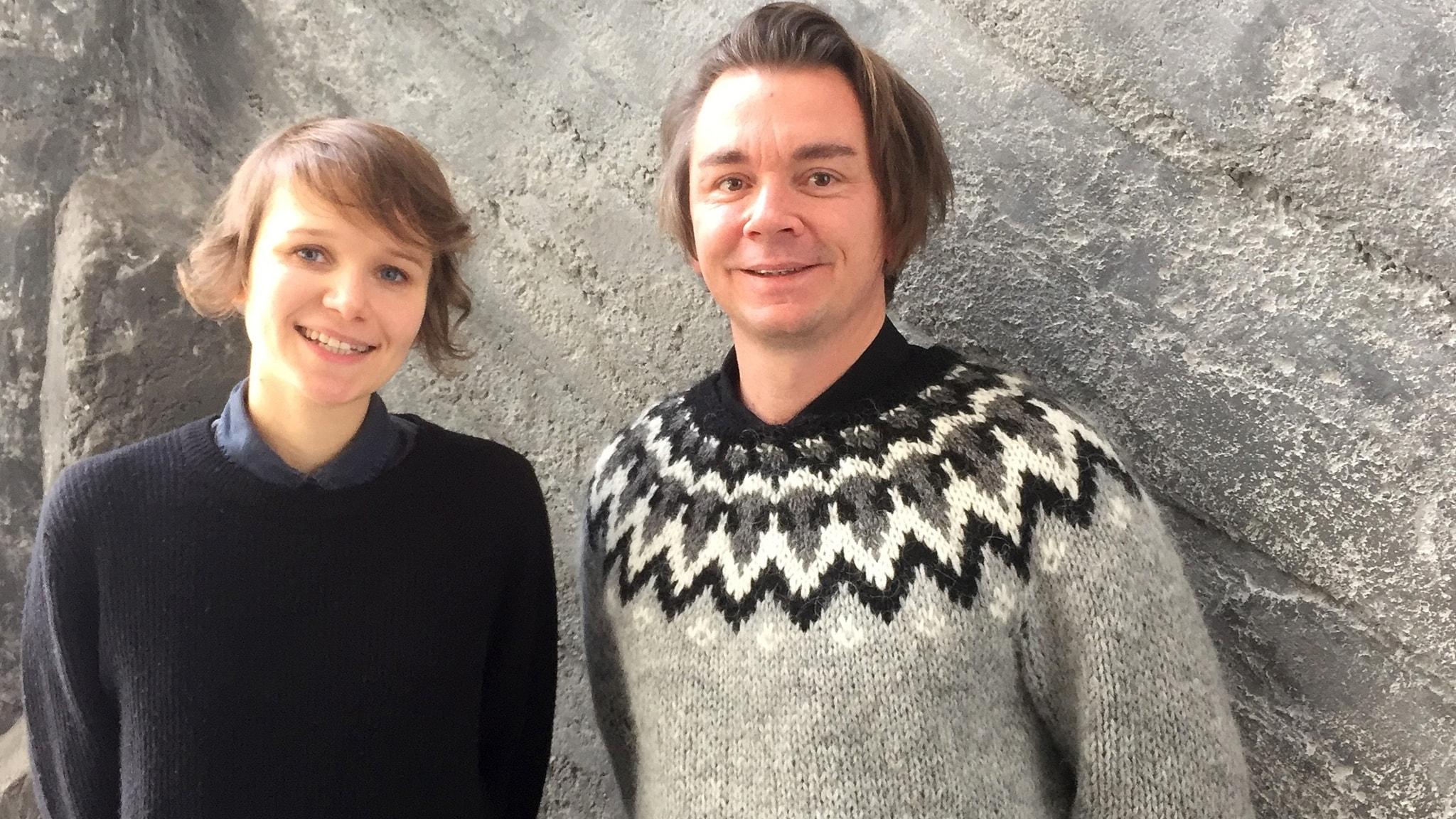 Emil Jensen & Iiris Viljanen på besök och vi minns Leonard Cohen
