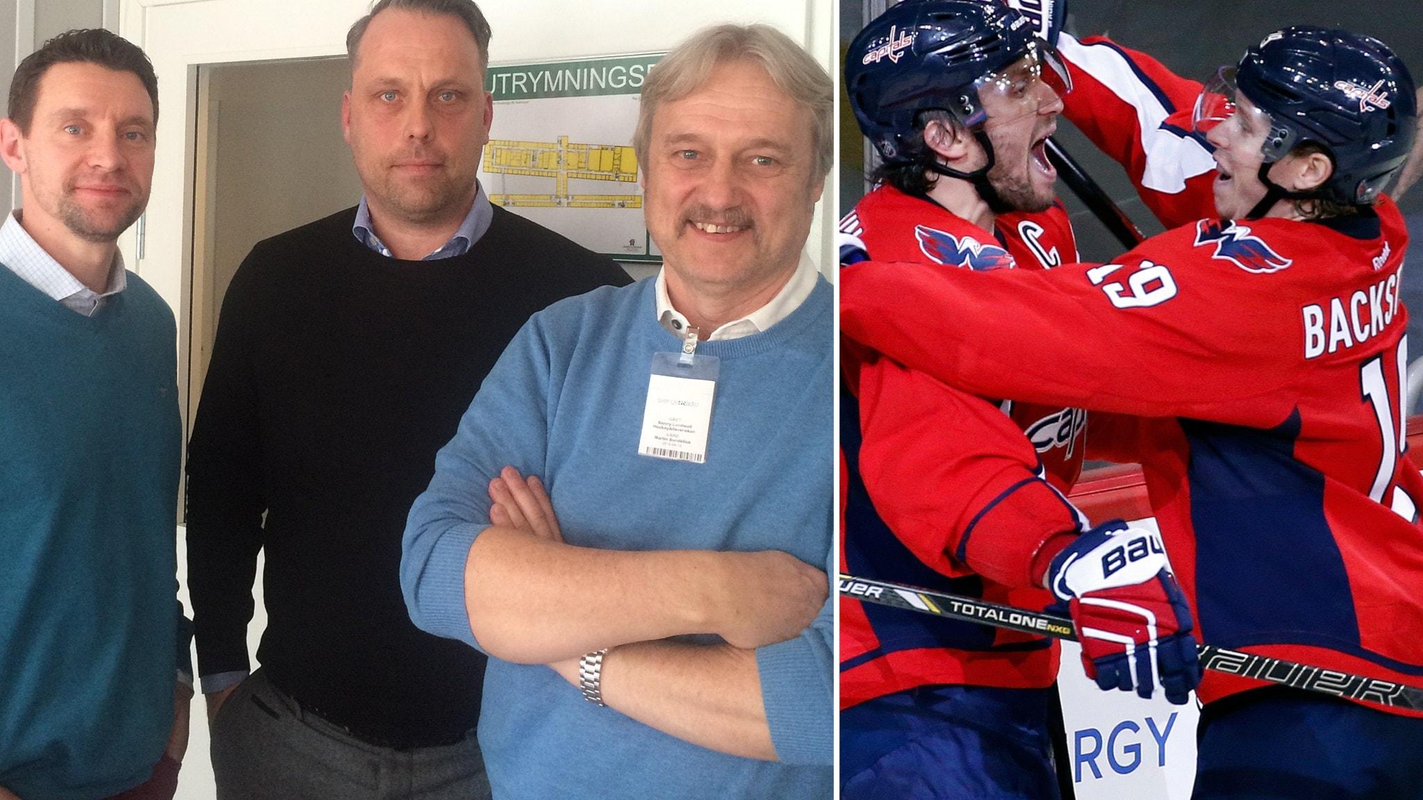 SHL-bossen svarar Wahlman & lyssnarna - Bäckström & Ovetjkin inför Stanley cup