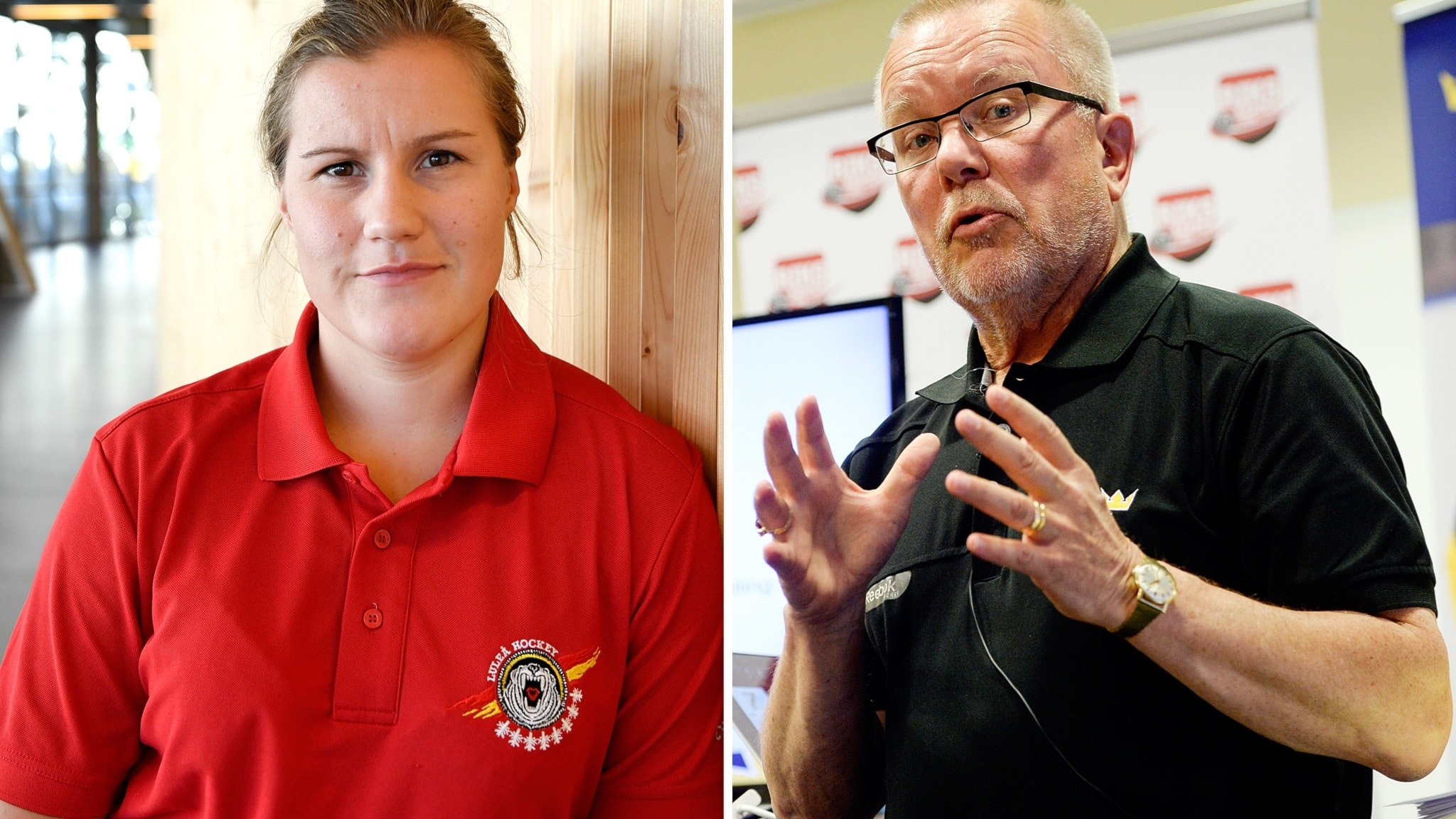 Emma Eliasson och Leif Boork hälsar på varandra, Almen Bibic om hatattacken från domaren & Timrås tunga JVM-tapp