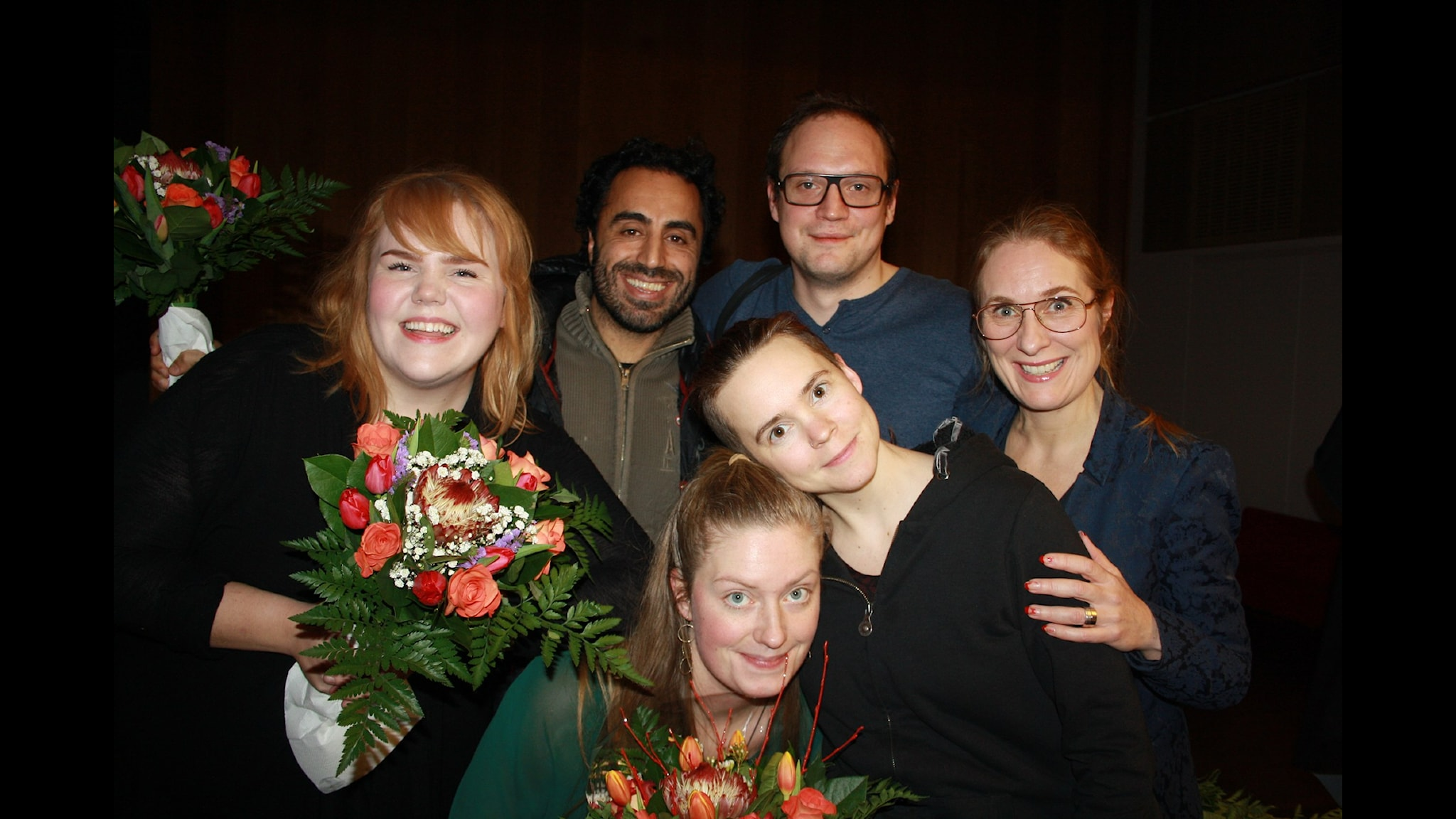 Özz Nûjen och Jonatan Unge MOT Linnea Wikblad och Sara Kinberg