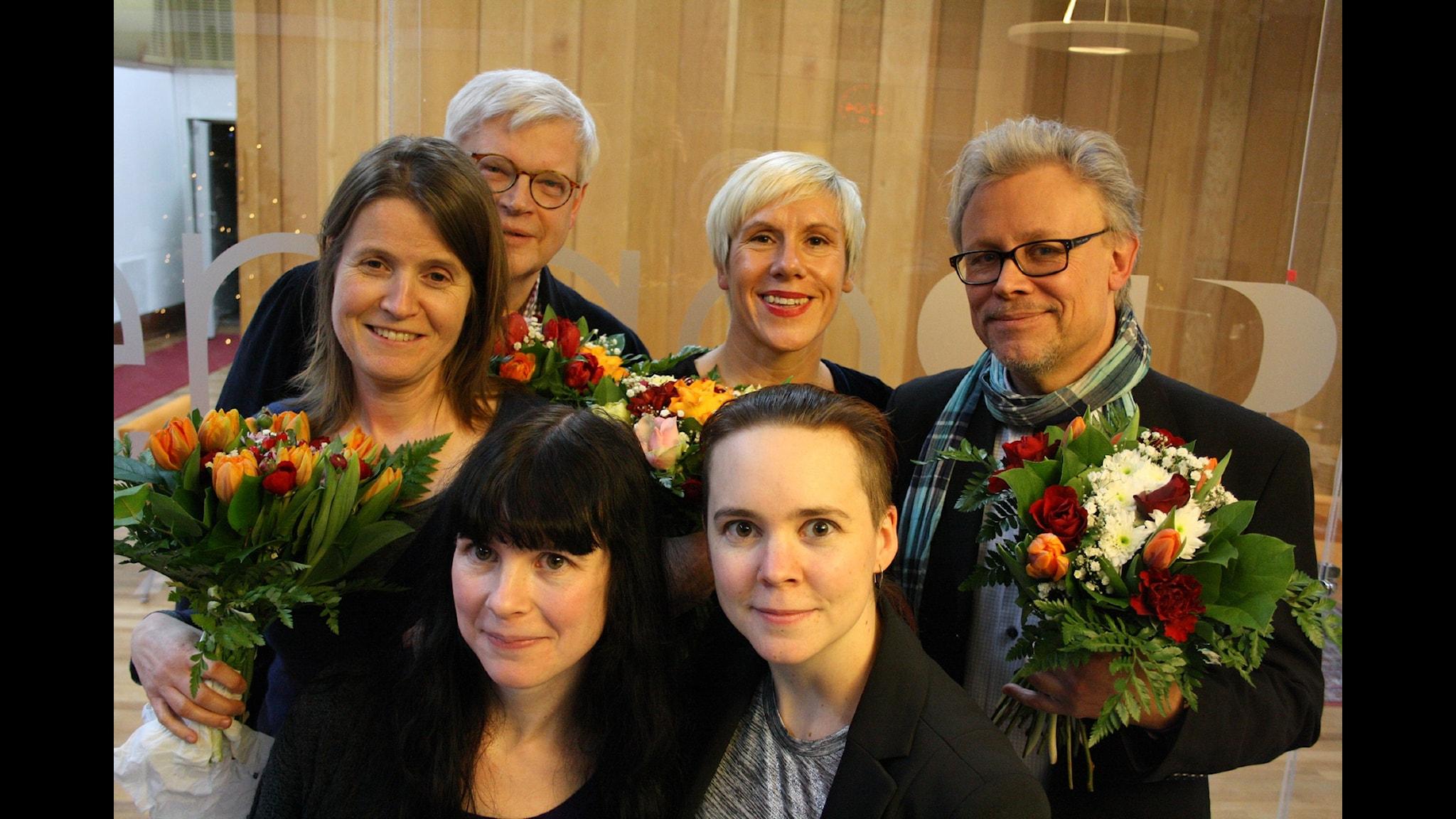 Louise Epstein och Thomas Nordegren MOT Staffan Dopping och Anna Laestadius Larsson