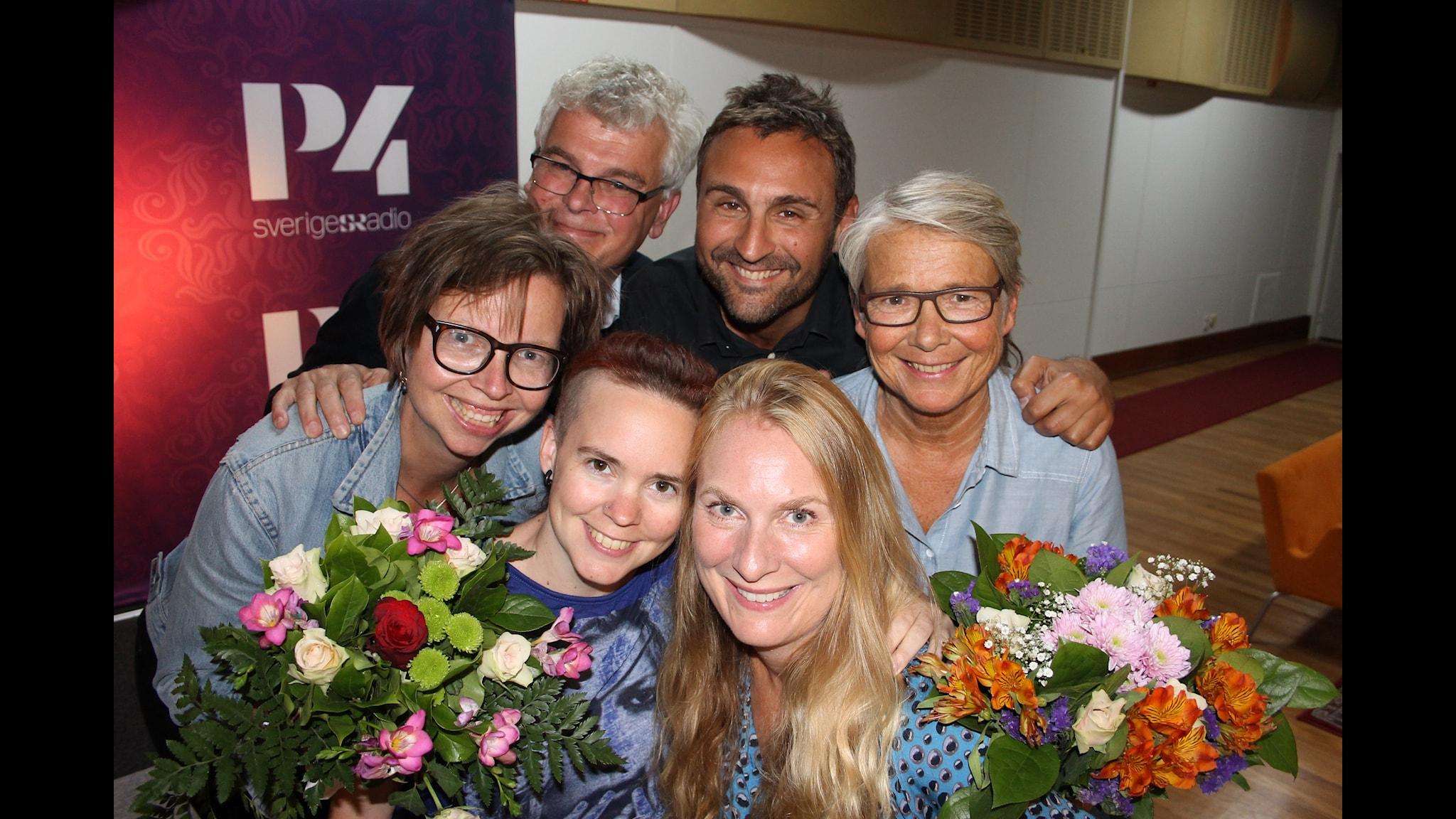 Marianne Hasslow, Johar Bendjelloul, Maja Aase och Mårten Castenfors