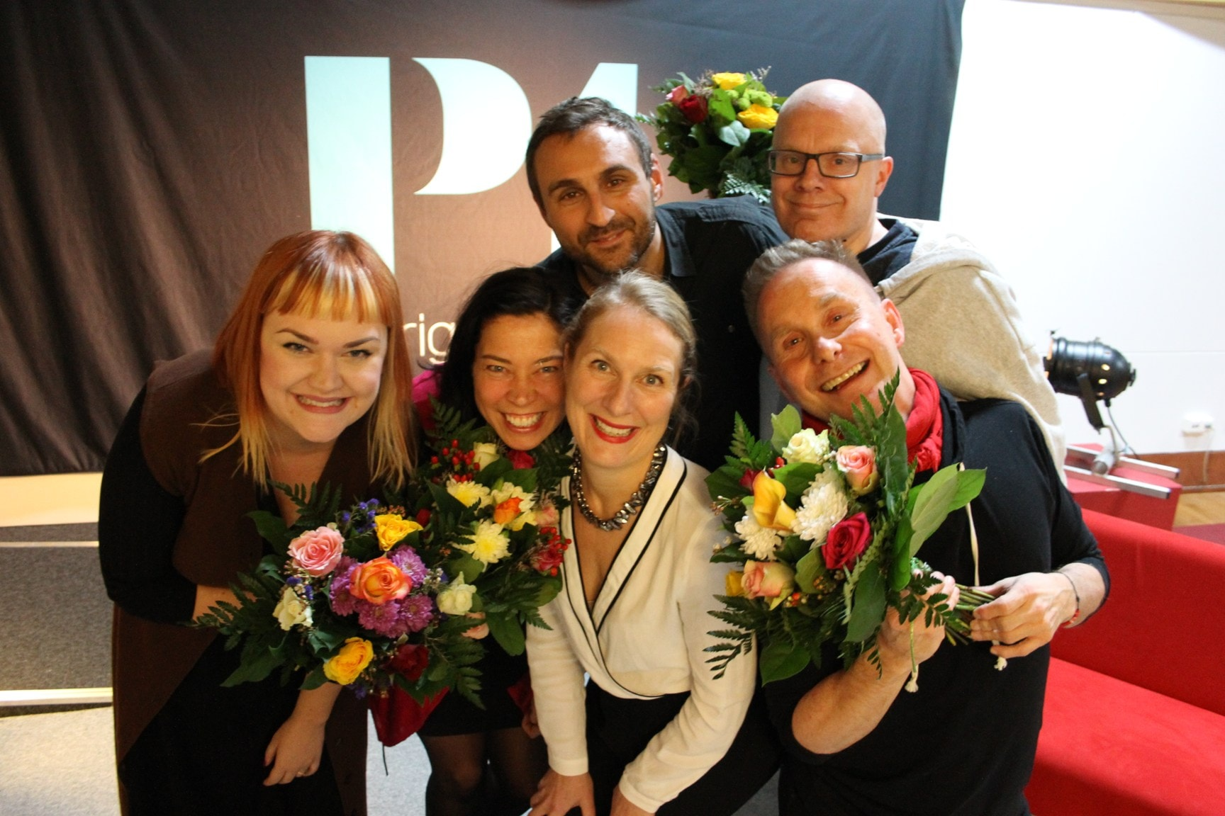 Marie Lundström, Ulph Nyström, Janne Berg och Hanna Olsson